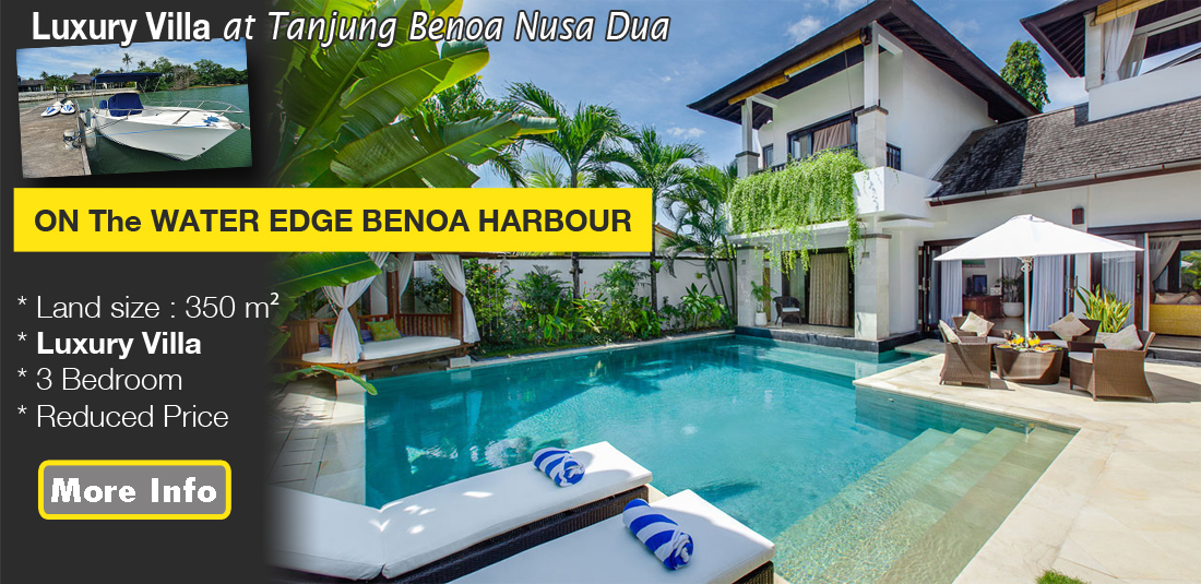 For Sale Luxury Villa at Tanjung Benoa Nusa Dua