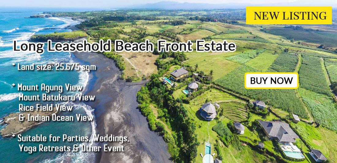 Beach Front Estate At Klecung Tabanan