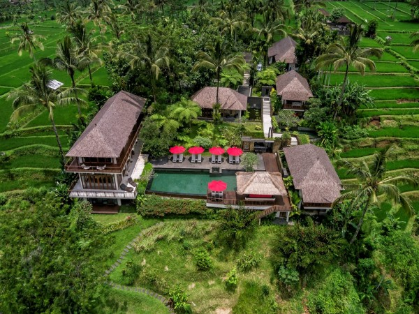Beautiful Resort At Ubud With Dramatic Views