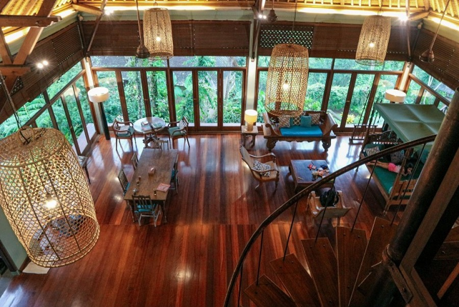 Under Market Price!! River Side And Hill Villa, Close to Central Ubud