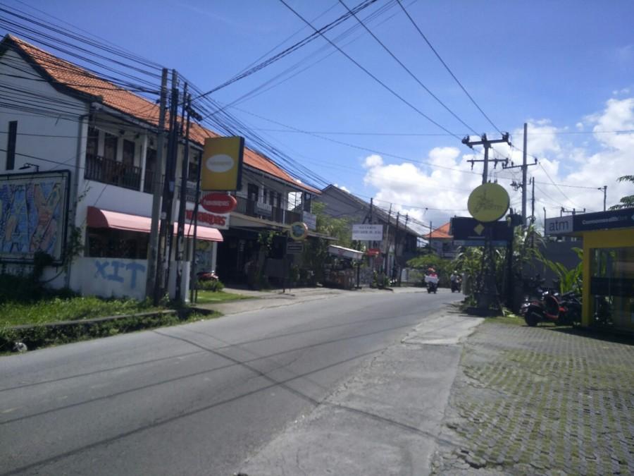 Land at Main Road of Canggu  Busy Area