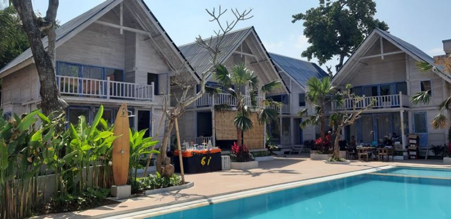 Beach Front Villa For Sale At Double Six Seminyak